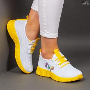 """Pantofi Sport """"ALD Fashion HQ-36-176 White ''"""