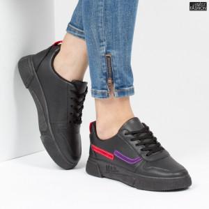 Pantofi Sport ''ALD Fashion HQ-79 Black''