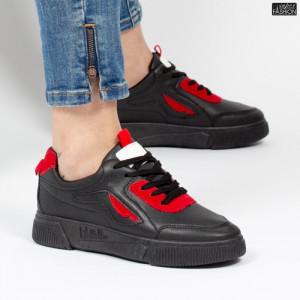 Pantofi Sport ''ALD Fashion HQ-80 Black'' [D8E1]