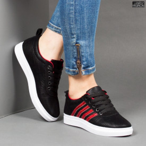 Pantofi Sport ''BAO SPORT 8002 Black Red'' [D11A4]