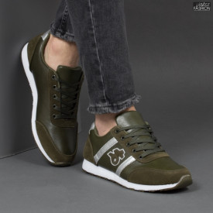 Pantofi Sport ''Fashion A-1808 Green''