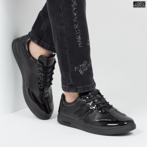 Pantofi sport ''Khatlon 180-1 Black'' [S3E3]