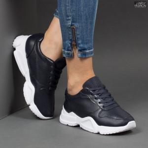 Pantofi sport ''Lavy W-6 Black Blue'' [D20C8]