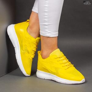 Pantofi Sport ''Mei WNH1-02 Yellow''