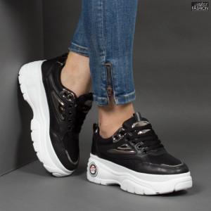 Pantofi Sport ''NOW Fashion A01-2 Black''