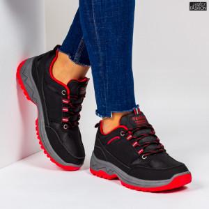 Pantofi Sport ''Se7.en D757 Black''