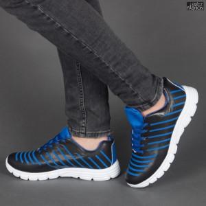 Pantofi Sport ''Sport Shoes W5853 Black/Lack Blue''