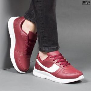 Pantofi Sport ''Veer Fashion B2818-4 Wine Red'' [S20E1]