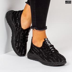 """Pantofi Sport """"Z Fashion ZA-60 Black"""" [D12D5]"""