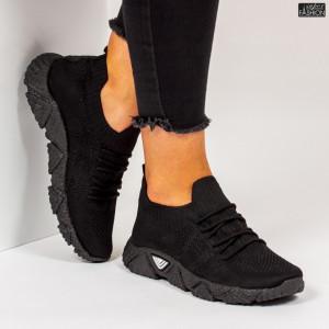 """Pantofi Sport """"Z Fashion ZA-92 Black"""" [D15A7]"""