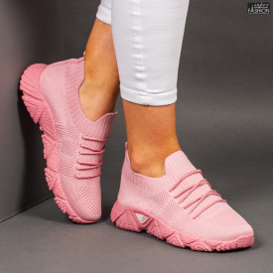 """Pantofi Sport """"Z Fashion ZA-92A Pink"""" [D14D5]"""
