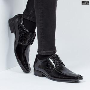 Pantofi ''WE Fashion 8868-30 Black'' [S9E4]