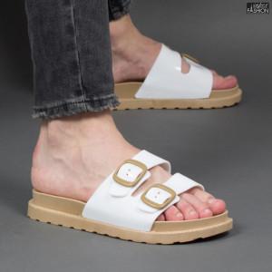 papuci barbati cu catarama