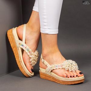 Sandale ''ALD Fashion HQ-L8093 Apricot'' [D1D9]