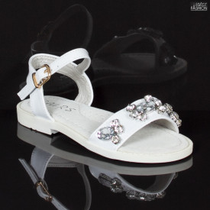 Sandale Copii ''MRS 676 White'' [D19D3]