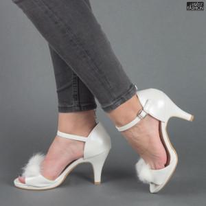 Sandale ''Mei WT17804 White'' [D23F11]