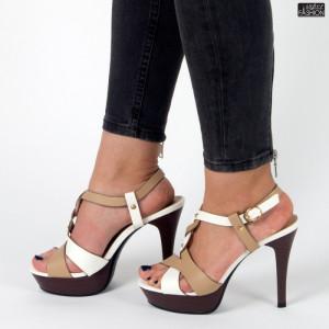 sandale dama eleganti cu toc inalt
