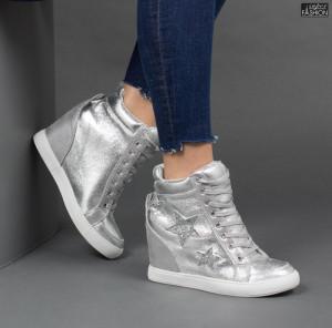 Sneakers ''Buonarotti 1G-17088 Silver''