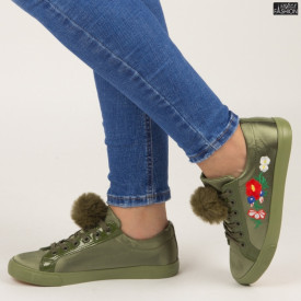 """Tenisi """"ABC H2117 Army Green"""" [D12C3]"""