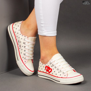 "Tenisi ""D.L. Fashion AX01 White"""