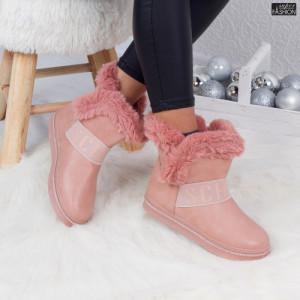 Cizme ''ABC YY-07 Pink''