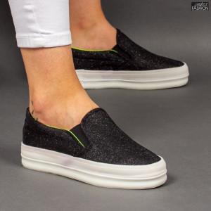 """Espadrile """"D.L. Fashion 5078 Black """" [D13A1]"""