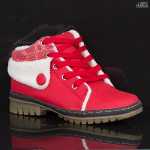 Ghete Copii ''Fashion OK28 Red'' [D20E8]