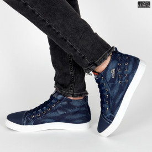Ghete Sport ''Fashion Balq 2218 Blue''