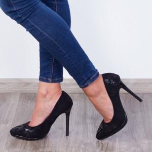 Pantofi ''ESTINT XQ328 Black'' [D23E11]