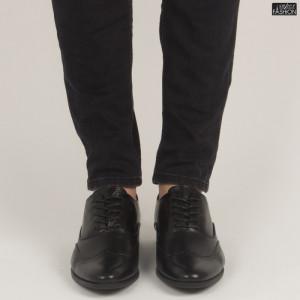 Pantofi ''OUGE RO-011 Black'' [S5F7]