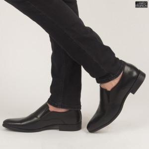 Pantofi ''OUGE RO-013 Black'' [S23E12]