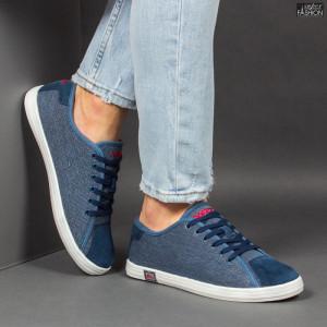 Pantofi Sport ''23DEC. 1316-A D. Blue'' [S15B7]