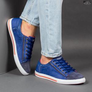 Pantofi Sport ''23DEC. M9027-59 Navy Orange'' [S16E2]