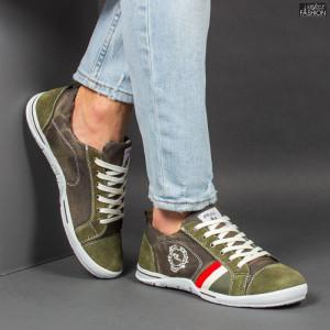 Pantofi Sport ''23DEC. M9031-32 Green'' [S5D1]