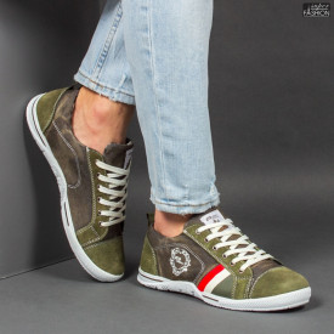 Pantofi Sport ''23DEC. M9031-32 Green''