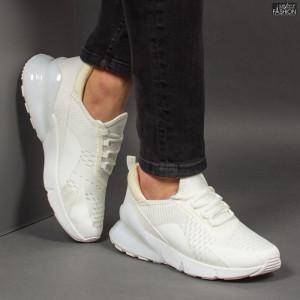 Pantofi Sport ''ABC J1815 White''