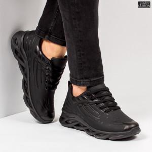"""Pantofi Sport """"ALD Fashion HQ-110-099 Black''"""