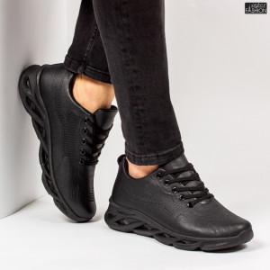 """Pantofi Sport """"ALD Fashion HQ-111-103 Black''"""