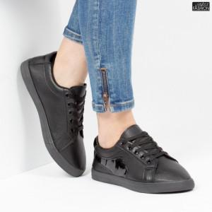 Pantofi Sport ''ALD Fashion HQ-117 Black'' [D18C5]