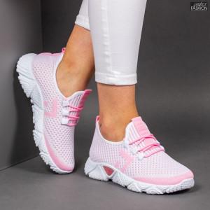 Pantofi Sport ''ALD Fashion HQ-203-246 White Pink''