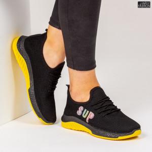 Pantofi Sport ''ALD Fashion HQ-4-27 Black'' [D7D4]
