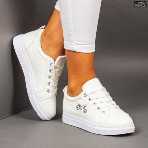 """Pantofi Sport """"ALL Fashion 1966 White"""""""
