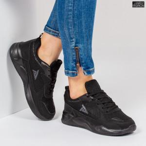 Pantofi Sport ''BAO Fashion W-17 Black'' [D20A6]