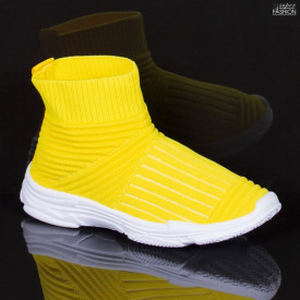 Pantofi Sport Copii ''Meek YF-101 Yellow'' [D7B11]