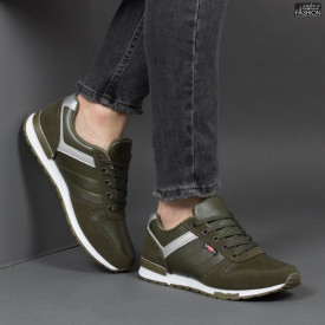 Pantofi Sport ''Fashion A-1807 Green'' [S5B2]