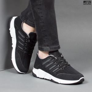 Pantofi Sport ''Fashion Balq A-051 Black Grey''