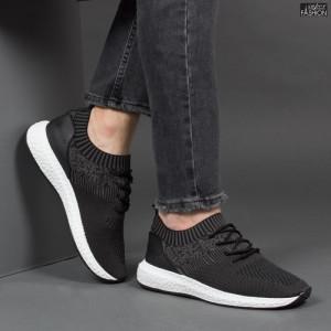 Pantofi Sport ''Fashion Balq K-8 Black'' [S23E12]