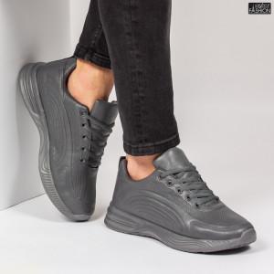 Pantofi Sport ''L&X A067 D. Grey'' [S12D8]