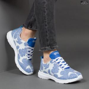 Pantofi Sport ''Lavy BZF 2009 R. Blue White'' [S9B5]