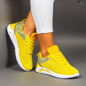 """Pantofi Sport """"Meek YF-104 Yellow"""""""